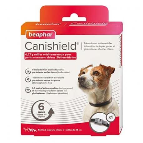 Collier Canishield pour chien