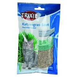 Sachet de semence d'herbe à chat Trixie, 100g