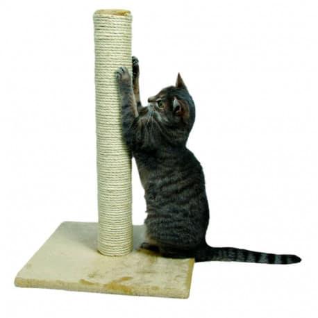 Arbre à chat Parla, poteau griffoir - Beige