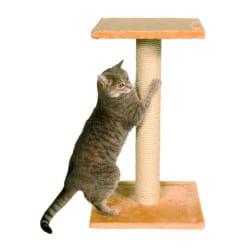 Arbre à chat Espejo, griffoir et plateforme - Beige