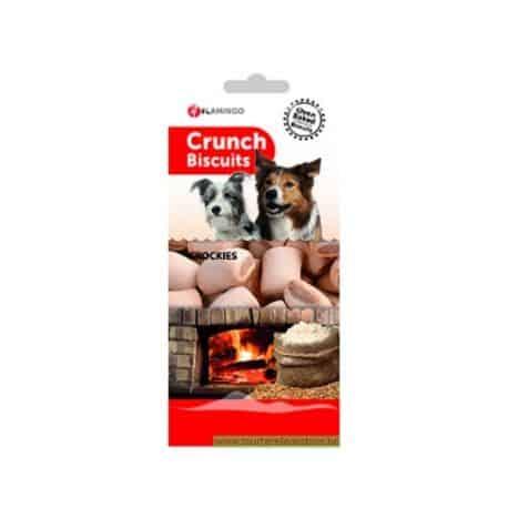 Biscuits fourrés pour chien Crunch Crockies 500g