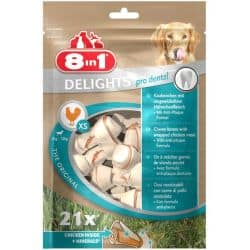 Friandises à mâcher pour chiens Dental Delights 8in1 Value Bag