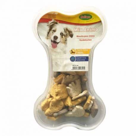 Biscuits pour chiens en forme d'Animaux 400Gr