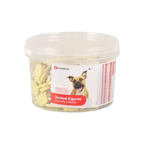 Biscuits pour chiens en forme d'Animaux 1Kg