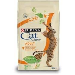 Croquettes pour chats Purina Cat Chow au poulet et à la dinde 10Kg