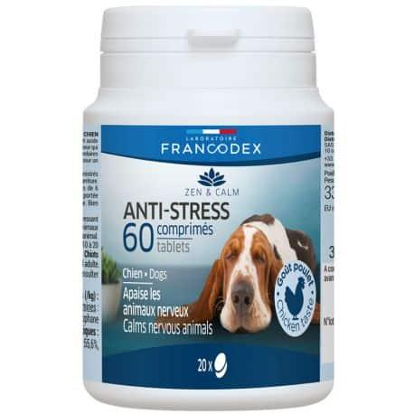 Comprimés Anti Stress Zen & Calm pour chiens et chats 60 comprimés