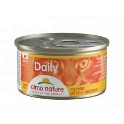 Boîte pour chat Almo daily mousse au poulet 85gr