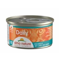 Boîte pour chat Almo daily mousse à l'agneau 85gr