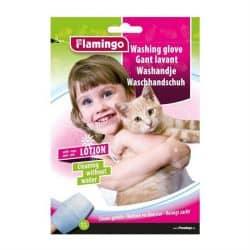 Gant de lavage pour chat à usage unique