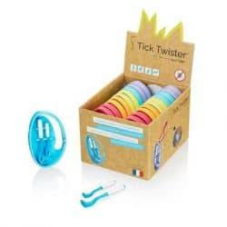 Retire Tiques de voyage Clipbox Tick Twister coloris divers