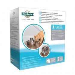 Fontaine pour chien en inox Drinkwell Seaside 1,7L