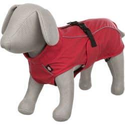 Manteau imperméable rouge Vimy pour chien