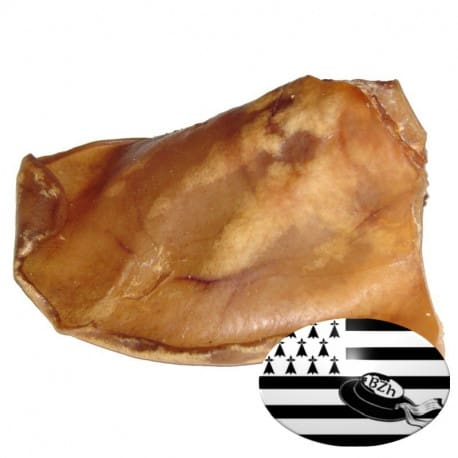 Oreille de cochon pour chien - Origine France / Bretagne
