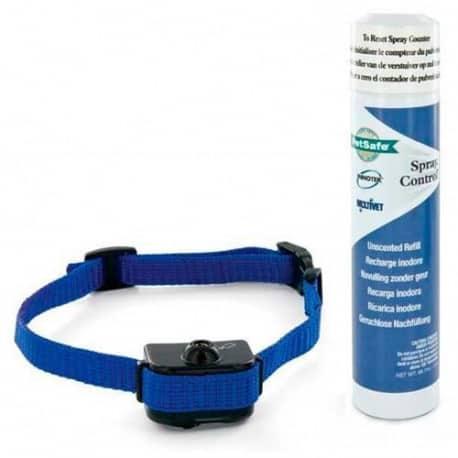 Collier antiaboiement à spray pour petits et moyens chien