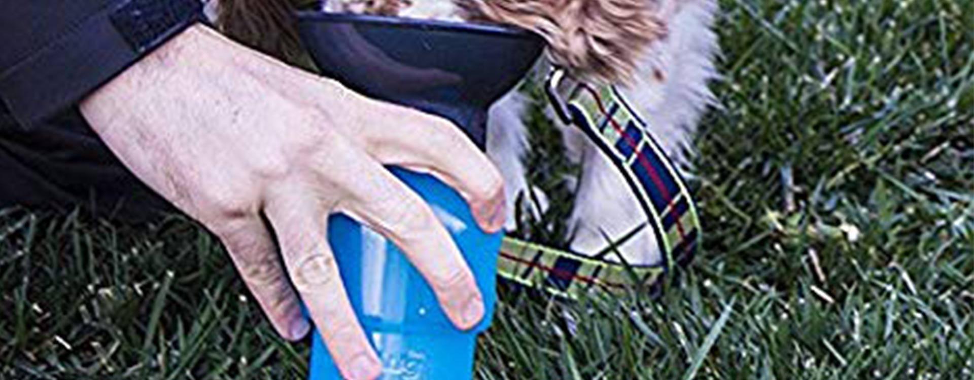 La gourde pour chien avec bol intégré !
